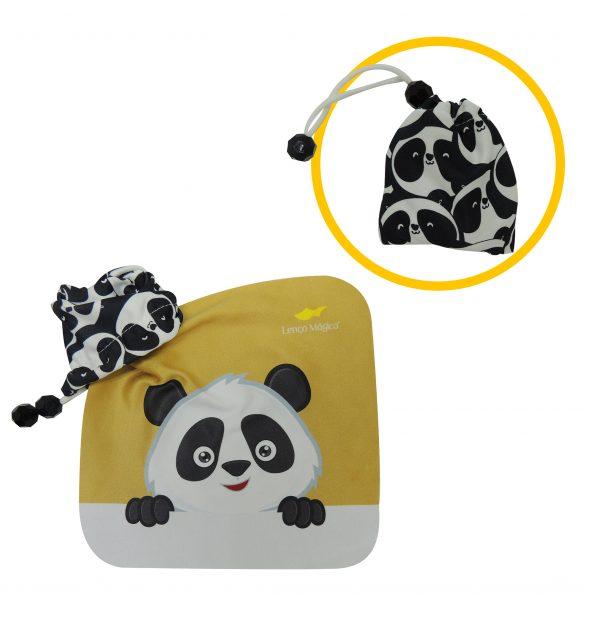 Bolsinha de panda